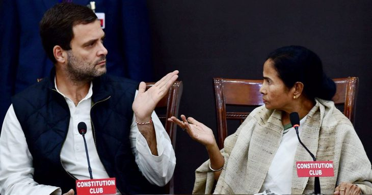 Is a new political oppositions bloc forming in India: Mamata Banerjee vows to 'save' Constitution, Rajnath Singh cautions against its 'breakdown'