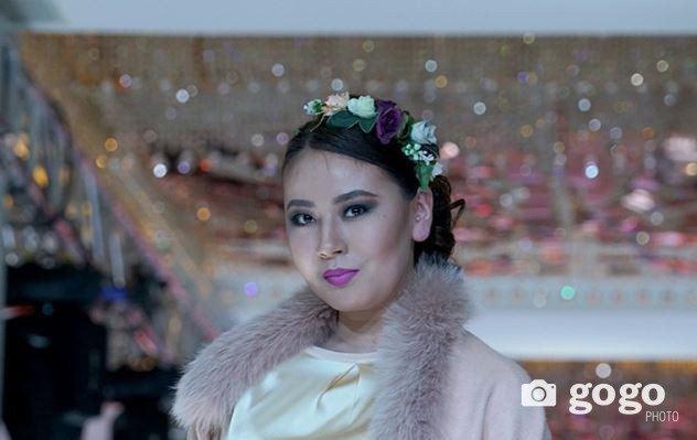 A fashion model from Mongolia speaks about Fashion Forward Dubai