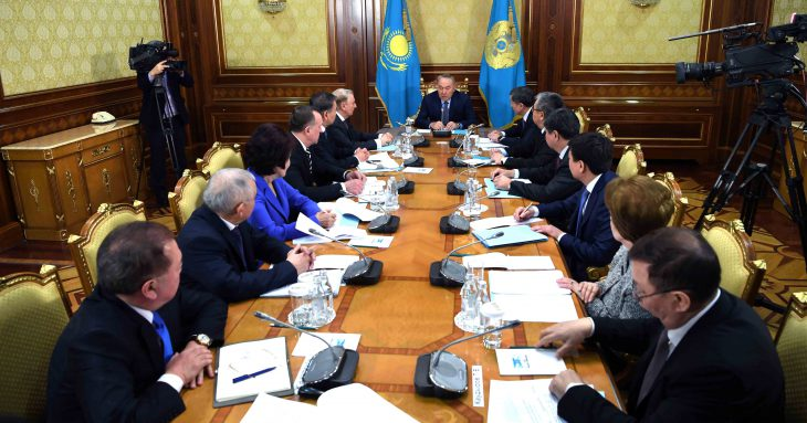 Kazakhstan president fires government led by B.Sagintaev
