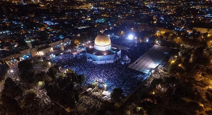 After 16 years, Palestinians pray in long-closed part of Al-Aqsa for the 1st time