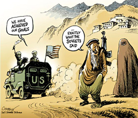Image result for afghan [peace talks cartoons