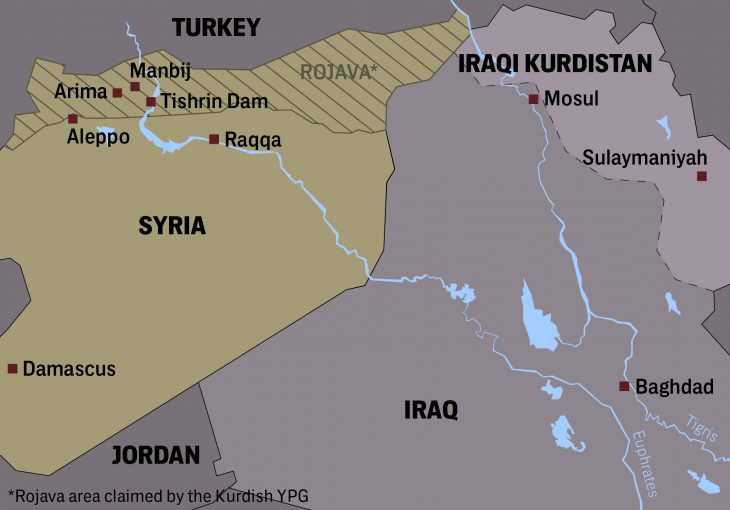 SYRIA PULSE Syria's Kurds increasingly isolated as Arab tribes cut deals with regime