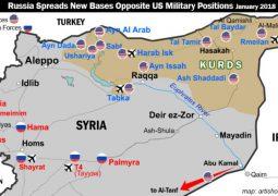 AP: Syria's defense minister, visiting Iran, slams 'illegitimate' US presence