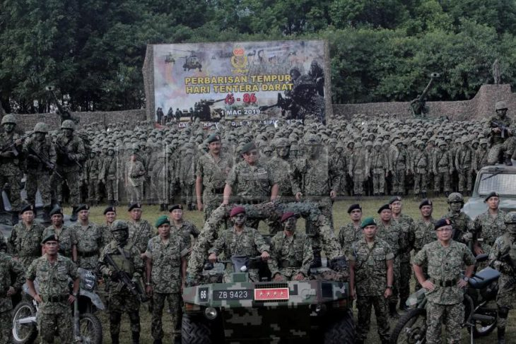 Malaysia holds 86th Army Day in historic Sangai Siput
