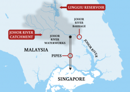 Higher water tariffs? Johor water reservoir 's levels, next Singapore, are low