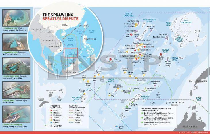 Malaysia's right to stake claim to Spratlys