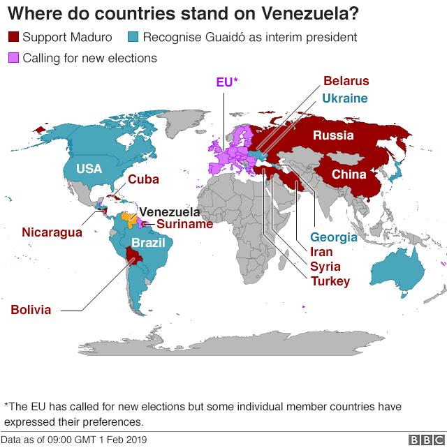 IRAN FOLLOWS RUSSIA TO VENEZUELA, BUT U.S. MILITARY SEES CHINA AS 'TRUE THREAT