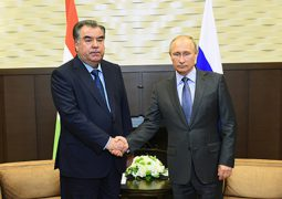 Presidents Putin, Rahmon hold talks in Moscow