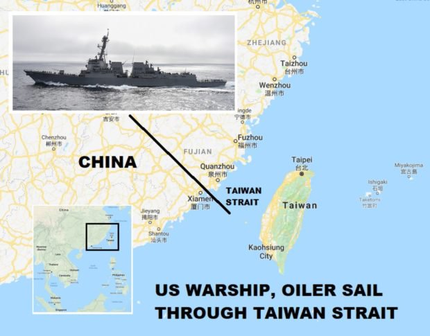 US-China Trade War results or Long Term Geopolitics Planning over Taiwan Strait?
