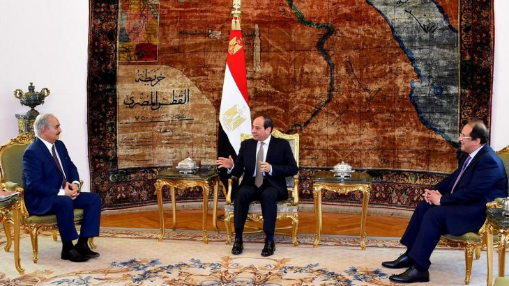 Libya crisis: Egypt's Sisi backs Haftar assault on Tripoli