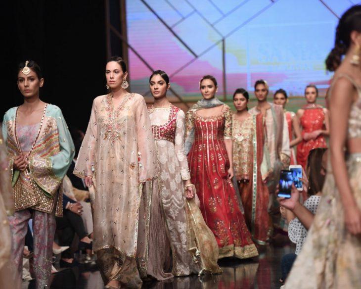 Pakistan Fashion Show: Sania Maskatiya and Zara Shahjahan steal the show on PSFW Day1
