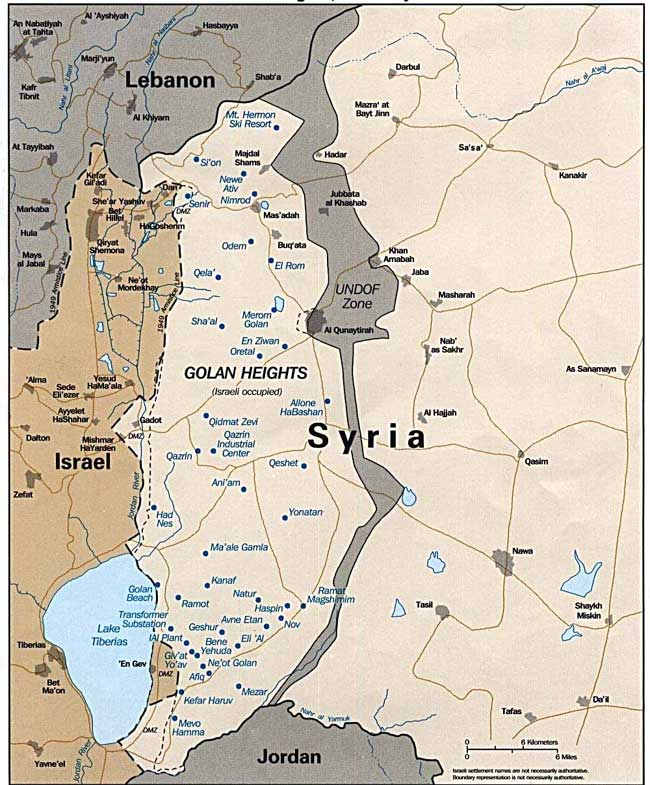Opinion: Trump's recognition or not, Israelis aren't moving to the Golan, But how about use of scarce water resources in MEast!?