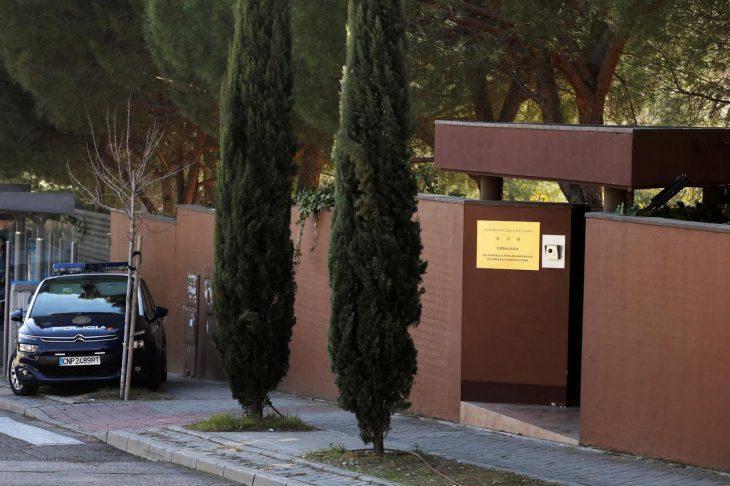 US authorities arrest former Marine in raid of North Korean embassy in Spain