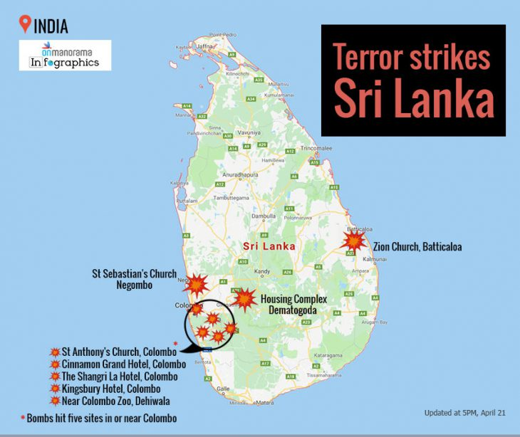 Clash of Civilizations? Easter Sunday explosions at multiple churches and hotels rock Sri Lanka, death tolls rises past 200