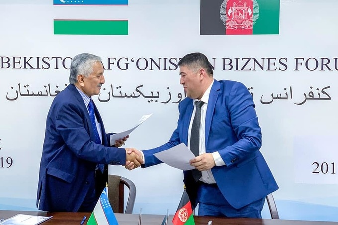 To boost bilateral trade, Uzbekistan and Afghanistan sign agreements for $82 million