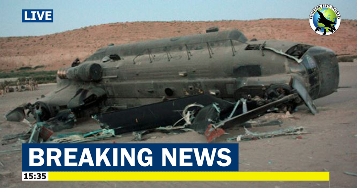 Chinook helicopter destroyed in Helmand 'hard landing