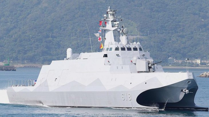 Taiwan begins mass production domestic Navy re-armament
