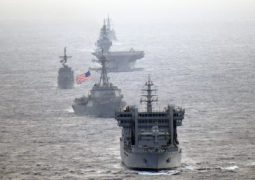 United Pacific Drills-1: U.S., France, Japan and Australia hold first combined naval drill in Asia