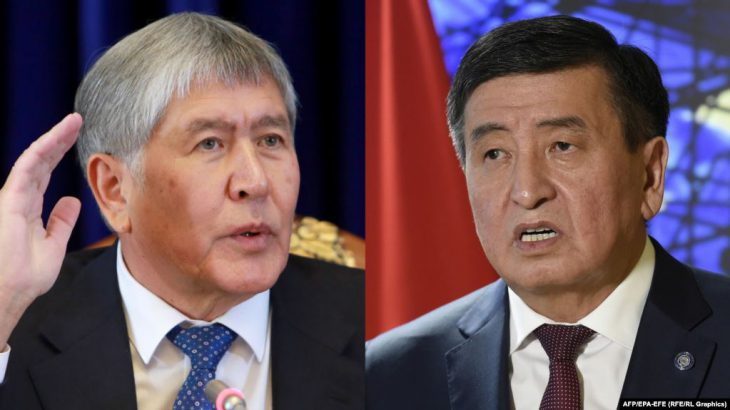 Former Kyrgyzstan President Atambayev comments on parliament's accusations against him