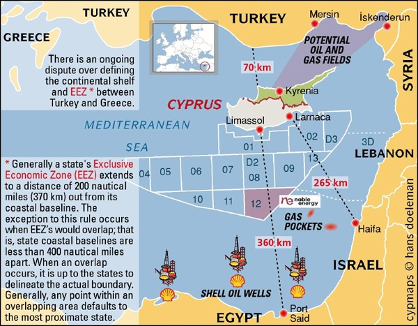 Turkey drills for natural gas near Cyprus: EU warns of actions