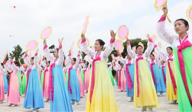 North Korea shines on a show for Chinese President Xi Jinping's state visit