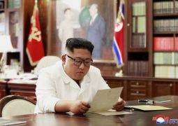 Kim received 'excellent' letter from Trump
