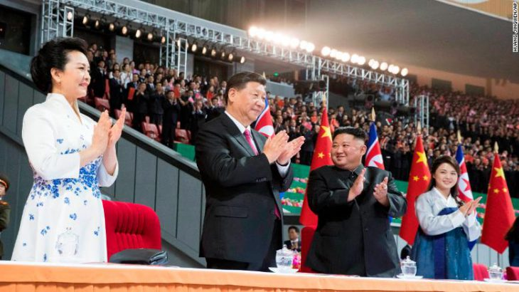 Mass celebrations in Xi's honor in North Korea amid talks on US tensions