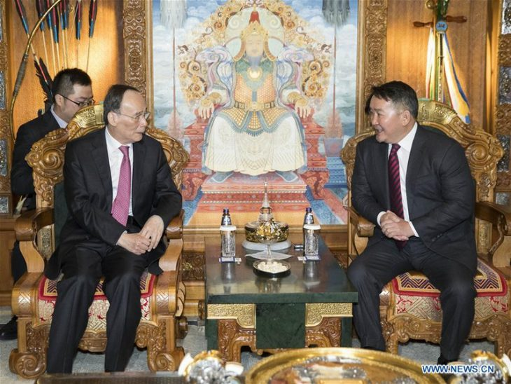 China to further promote strategic partnership with Mongolia