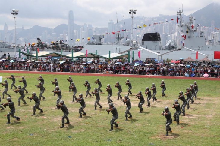 Will China send in the troops to stamp out protests in Hong Kong?