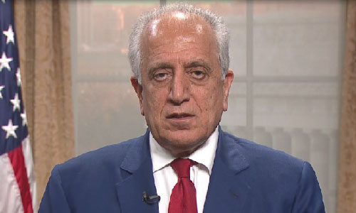 Khalilzad: US won't 'cut and run' on Afghanistan