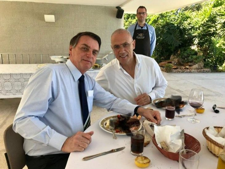 Israel's ambassador to Brazil mocked after non-kosher meal is clumsily concealed