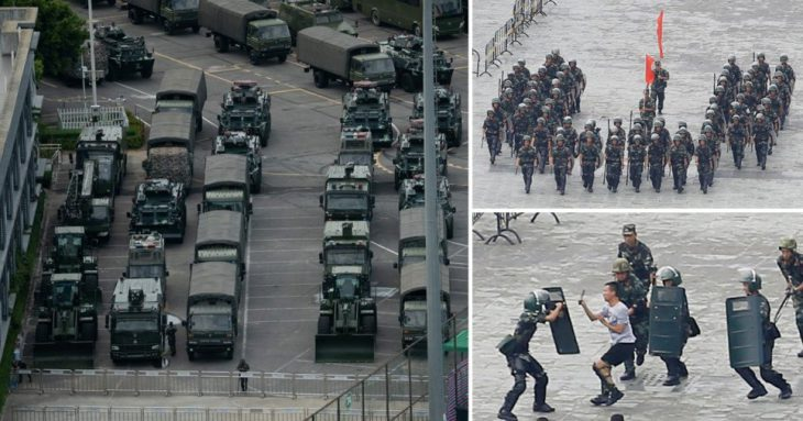 New York Times: What Is the Chinese Military Doing in Hong Kong?