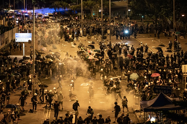 Beijing talks up case for intervention in Hong Kong, labelling protests 'colour revolution'