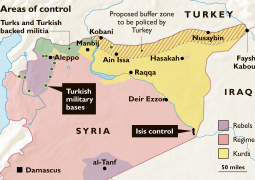 Up to 30 km peace korridor in Turkey-Syria border conditioned in US-Turkish talks