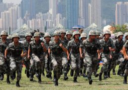 Battle-Ready: The PLA's Hong Kong Garrison Will China cross the Rubicon by sending its military to Hong Kong?