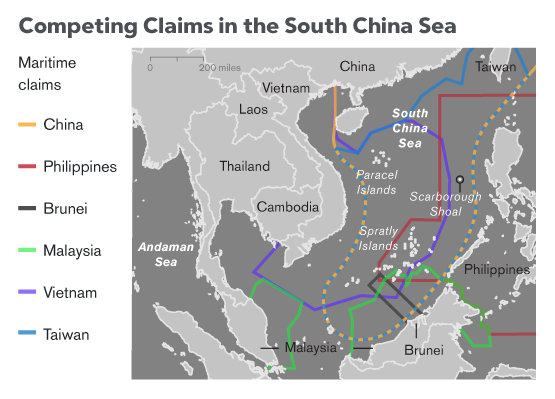 Vietnam demands Chinese ship leaves its exclusive economic zone