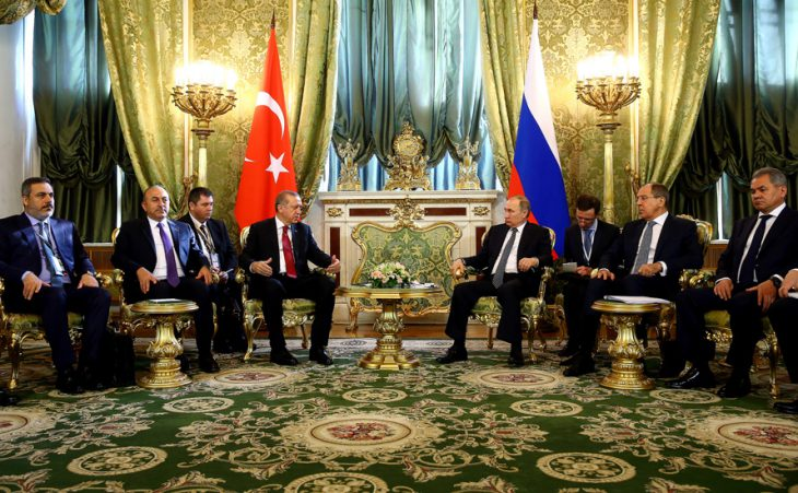 Changing ME: Erdogan in Russia for Syria and other wide rage issues of talks with Putin