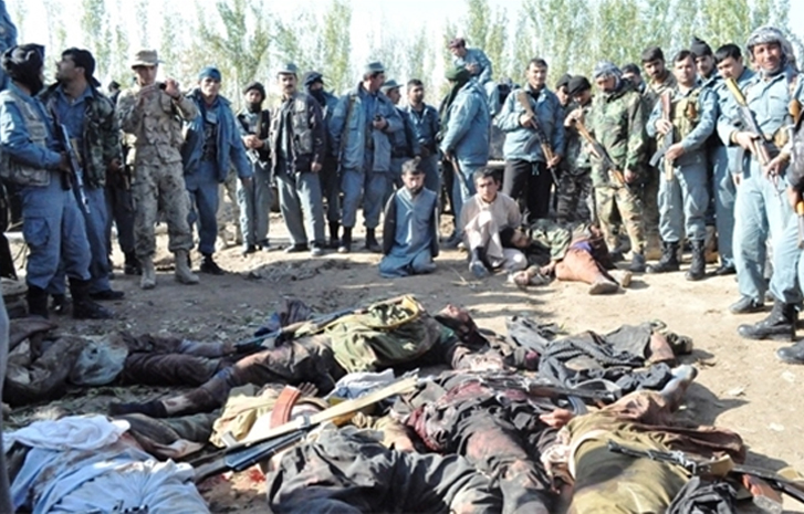 Afghan, U.S. forces kill Taliban governors, fighters