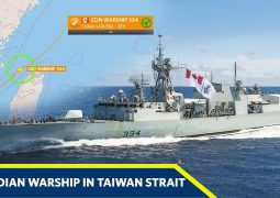 Canada again sails warship through sensitive Taiwan Strait