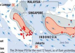 Indonesia rejects Malaysia's haze complaints, despite evidence