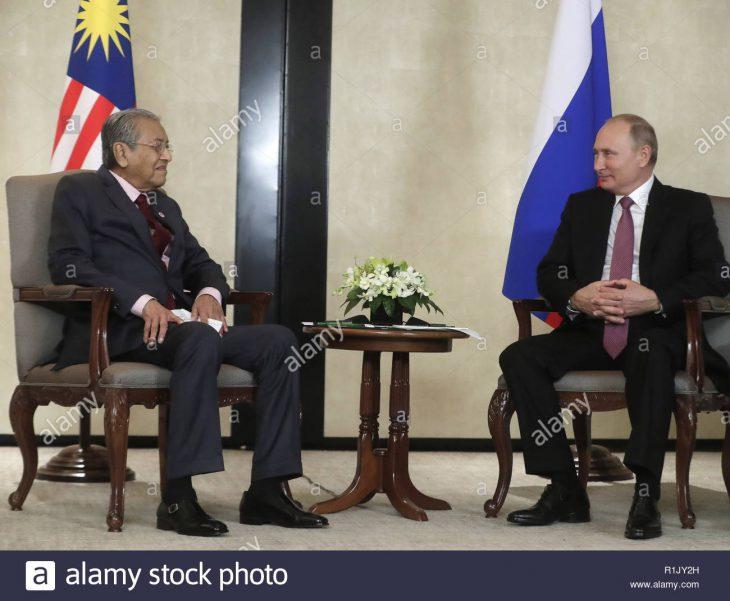 Mahathir raises issue of poorly-maintained Sukhoi, MiG with Putin