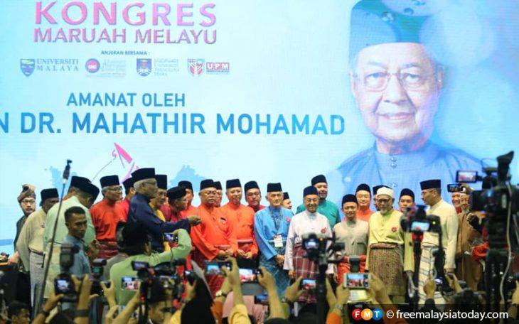 Dr M denies Kongres Maruah Melayu is racist