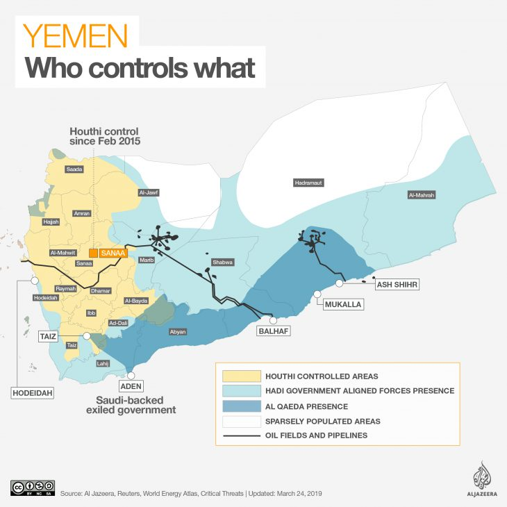 Yet one more another Middle East country in decades in turmoil: Suffering Yemen