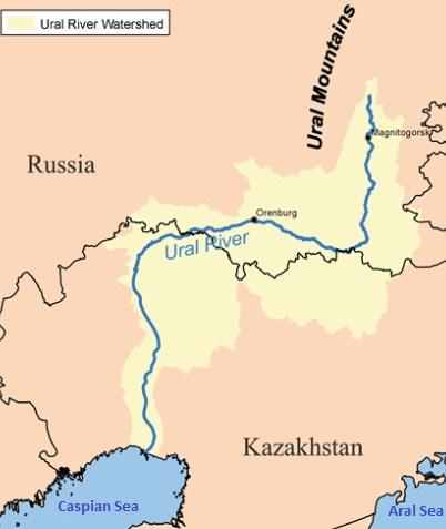 Kazakhstan, Russia discuss rational use of Ural/Zhayik River water resources