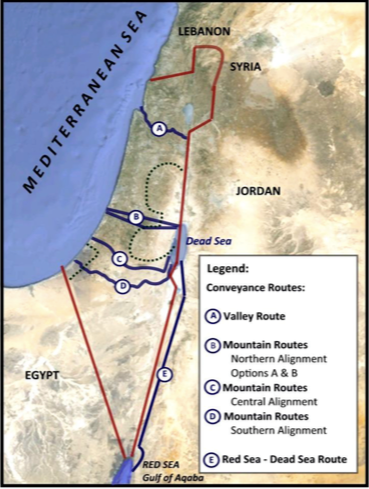 Jordan to go ahead with Red Sea-Dead Sea project despite Israel's withdrawal threat