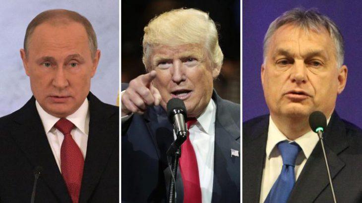 Trump, Putin and Hungary's Orban all share a disdain for Ukraine. That's raising alarm bells