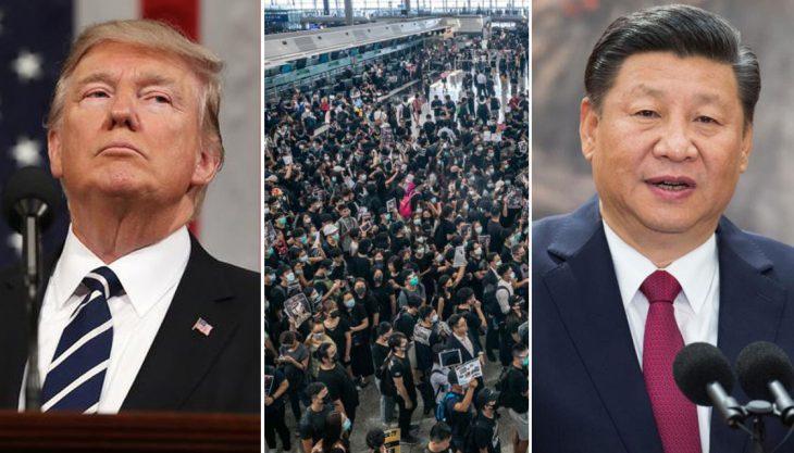 China Condemns U.S. Over Hong Kong, imposes contermeasures