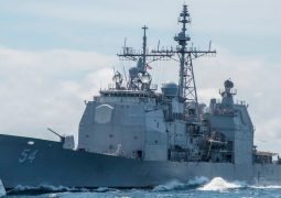 Trade Agreement impact? U.S. warship transits Taiwan Strait less than week after election
