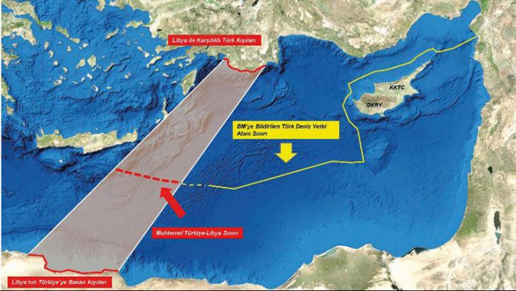 Ankara against Eastern Mediterranean Gas Pipeline: Turkey asks Russia to get Libya's Haftar to accept ceasefire