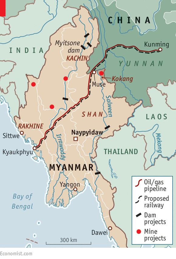 Myanmar and China ink deals to accelerate Belt and Road